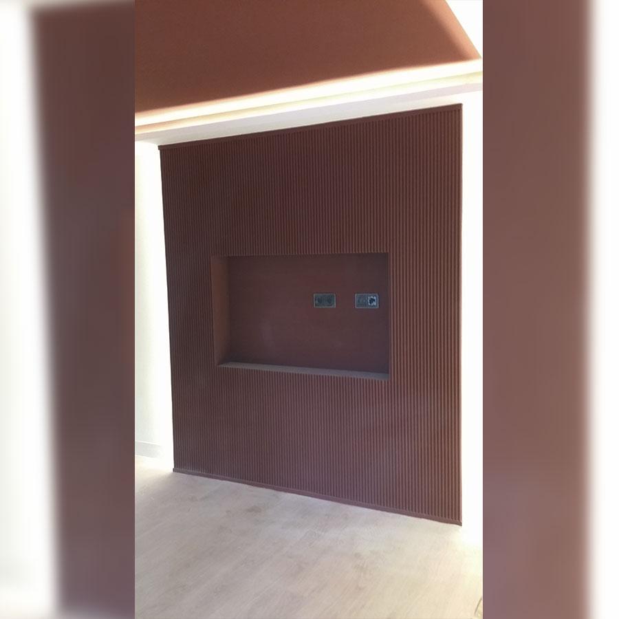 Paneles decorativos en oficinas