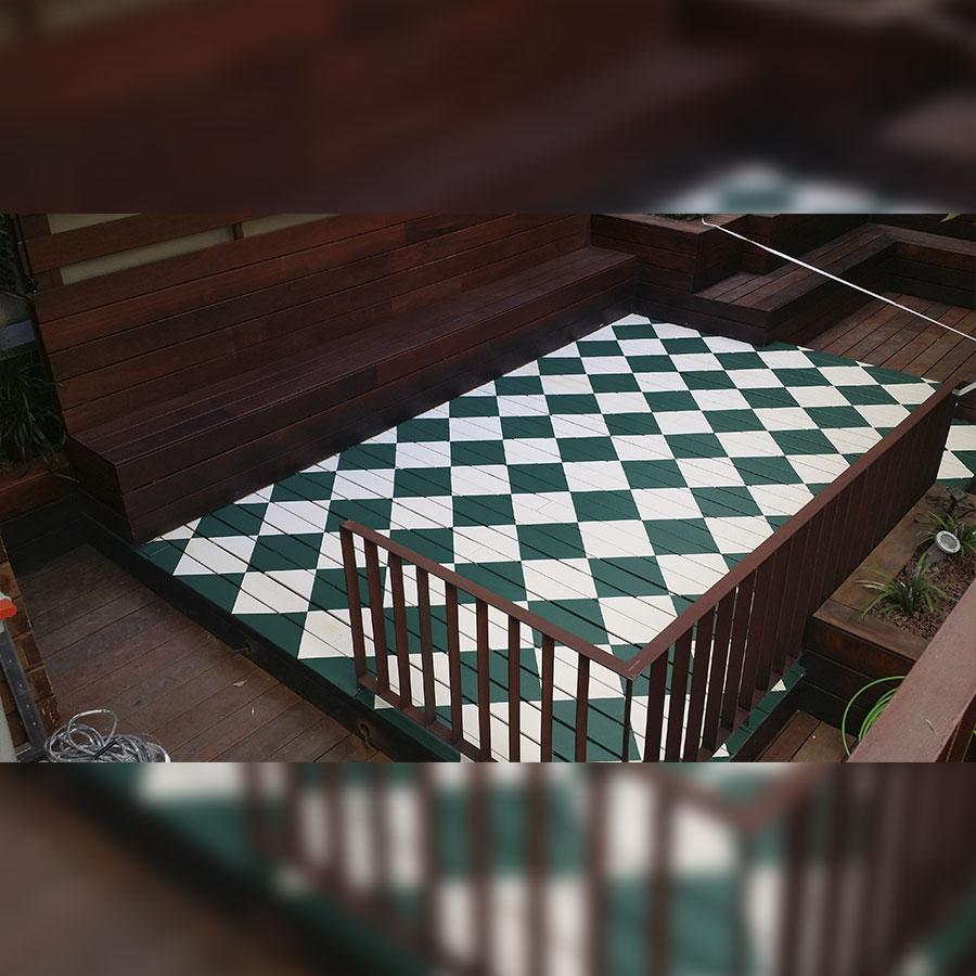 pintura de suelo en restaurante madrid centro